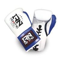 Guantoni Boxe IRONITRO K1 MAX White/Blue 10 oz