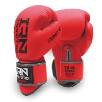 "Guantoni Boxe IRONITRO ""BLACK TO BLACK"" 3.0 10 Oz. da Muay Thai - Kick boxing"