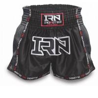 """Pantaloncini K1 Muay Thai IRONITRO """"Laser"""" TOTAL BLACK 2.0"""