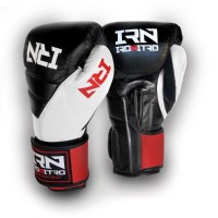Boxing Gloves IRONITRO Tokio 2.0 Black/White/Red 2020