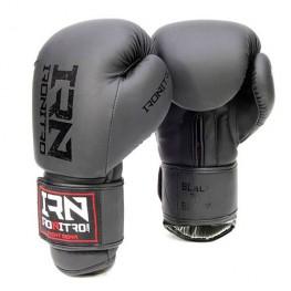"Guantoni Boxe IRONITRO ""BLACK TO BLACK"" 3.0 10 Oz. da Muay Thai - Kick boxing"