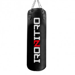 Sacco da Boxe Ironitro Pelle Elite Professional 100 CM x 30 KG