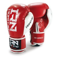 "Guantoni Boxe IRONITRO Red ""CARBON"" 10 Oz."