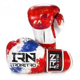 Guantoni Boxe IRONITRO THAI FLAG 2.0 10 Oz. Muay Thai Kick boxing