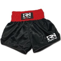 Pantaloncini Ironitro Iron Trunk Simple Red/Black