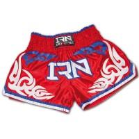 Pantaloncini NITRO THAI Muay Thai K1 RED THAI