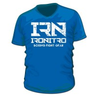 T-Shirt IRONITRO Boxing Blue