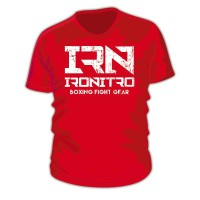 T-Shirt IRONITRO Boxing Red