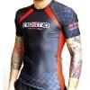 Rashguard Blu MMA Grappling 2.0 IRONITRO CAGE FIGHT