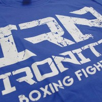 T-Shirt IRONITRO Boxing Black
