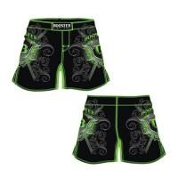 Pantaloncini MMA Pro Booster Shield Green