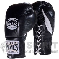 "Guantoni professionali ""Training Lace Up""  Cleto Reyes da 10 once."