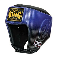 Casco Top King DE COMPETITION  Pelle Made in Thai Blu