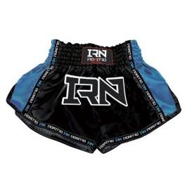 "Pantaloncini K1 Muay Thai IRONITRO ""Laser"" Blu"