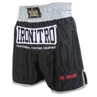 "Pantaloncini Boxe IRONITRO ""Silver"""