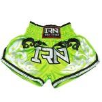 Pantaloncini NITRO THAI Muay Thai K1 Verde elettrico