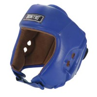 Casco boxe Ironitro Pro Start Open Chin BLU