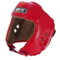 Casco boxe Ironitro Pro Start Open Chin Rosso