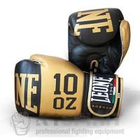 """Guantoni Boxe """"Elite"""" Leone Sport Oro"""