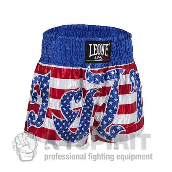 Pantaloncini Muay Thai Power USA Leone 1a1812b3c461