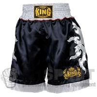 Pantaloncini Muay Thai Top King da BOXE black