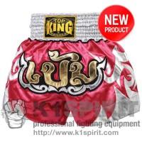 Pantaloncini Muay Thai Top King fuxia