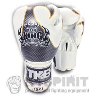 "Boxing gloves Top King ""EMPOWER CREATIVITY WHITE GOLD"" 10 OZ"