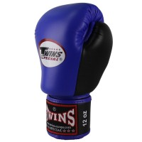 Guantoni Boxe BGVL 3 DOUBLE COLOR BLUE/BLACK