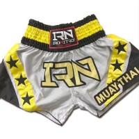 "Short K1 Muay Thai IRONITRO ""Stars thai GREY"""