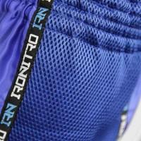 "Pantaloncini K1 Muay Thai IRONITRO ""Laser"" BLUE TO BLUE"