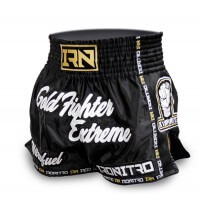 Pantaloncini K1 Muay Thai IRONITRO GOLD FIGHT